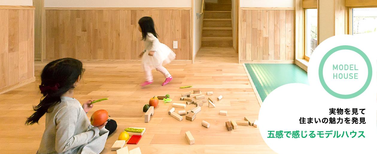 MODEL HOUSE モデルハウスやショールームで魅力を体感 五感で感じるモデルハウス